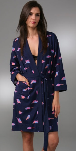 Marc by Marc Jacobs Scattered Birds Robe, Shopbop.com, $98